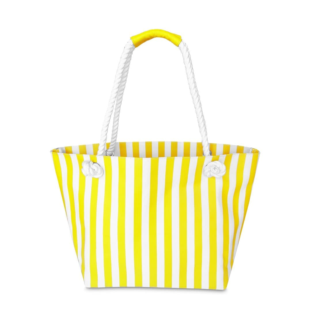 Stripped Beach Tote
